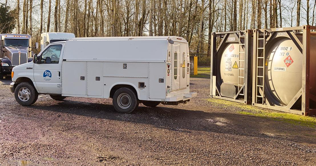 mobile repair truck
