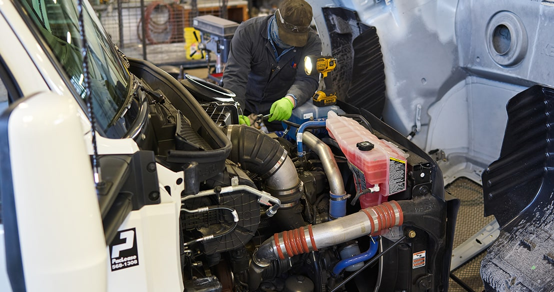 diesel chassis repair